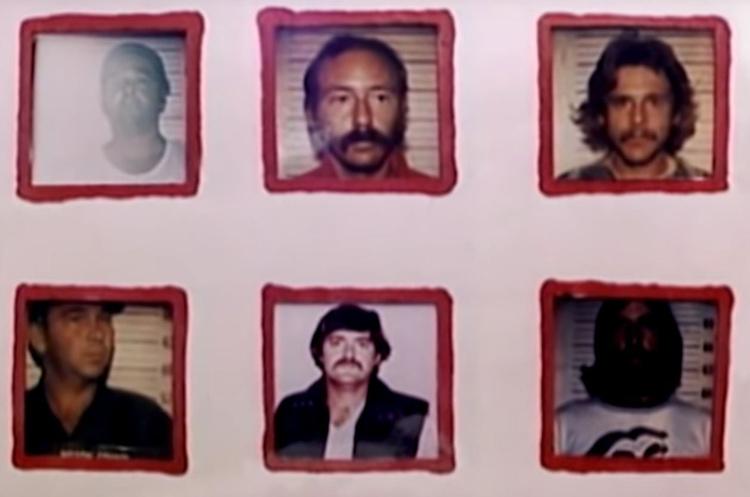Edward (hàng dưới, ở giữa) nổi bật hơn vì là ảnh duy nhất có phông nền trắng. Ảnh: Filmrise.