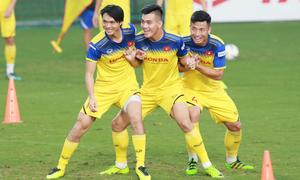 Đội tuyển Việt Nam tăng cường tập va chạm
