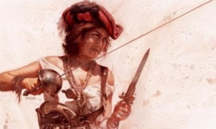 Nữ hải tặc Jeanne de Clisson. Ảnh minh họa: Cultura Colectiva.