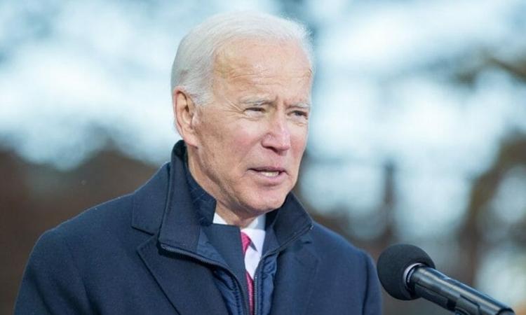 Phó tổng thống Joe Biden tại New Hampshire ngày 8/11. Ảnh: AFP.