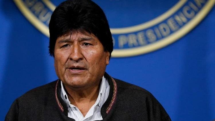 Tổng thống Evo Morales tuyên bố từ chức hôm 10/11. Ảnh: AFP.