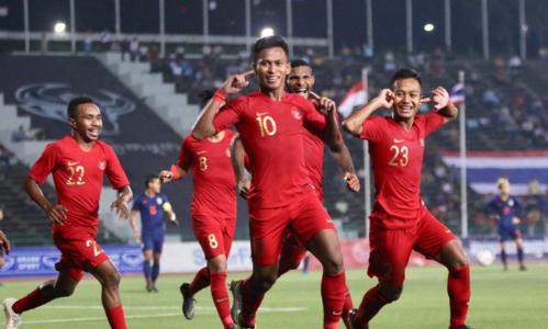 U22 Indonesia vô địch Đông Nam Á hồi đầu năm. Ảnh: Anh Lê