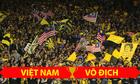 Hàng ngàn CĐV Malaysia hô Việt Nam vô địch trên khán đài