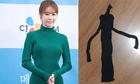 Cô gái khóc thét khi mua bộ váy body giống sao Hàn qua mạng