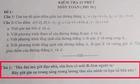 Học sinh bỏ ý định quay cóp vì dòng chữ trong đề kiểm tra