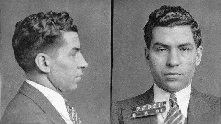 Trùm mafia Charles Lucky Luciano tại Mỹ năm 1931. Ảnh: Commons.
