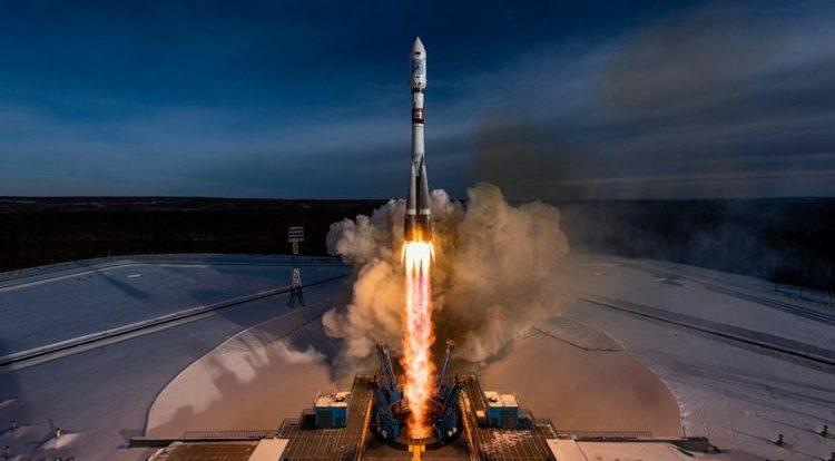 Tên lửa được phóng lên tại bệ phóng Vostochny, Nga, tháng 12/2018. Ảnh: Cơ quan phóng tên lửa GK.