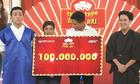 Chàng trai bán trà sữa lập kỷ lục chỉ 10 giây ẵm 100 triệu đồng