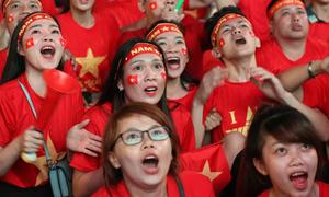 90 phút cảm xúc trận Việt Nam - Thái Lan