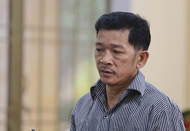 Bị Tô Văn Mai trong phiên tòa sơ thẩm ngày 20/11. Ảnh: Đắc Thành.