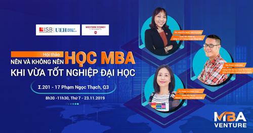 Điểm cộng của chương trình MBA Venture - 2