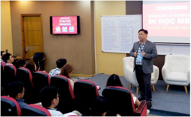 PGS.TS Trần Hà Minh Quân - Viện trưởng Viện ISB chia sẻ về chương trình MBA Venture.