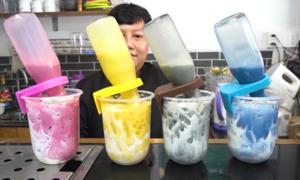 Trà sữa úp ngược