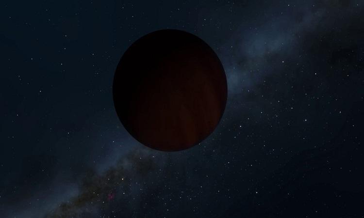 Ngoại hành tinh đen hơn than