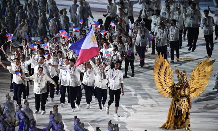 Đoàn thể thao Philippines dự SEA Games 30 với quyết tâm đứng đầu bảng tổng sắp chung cuộc.