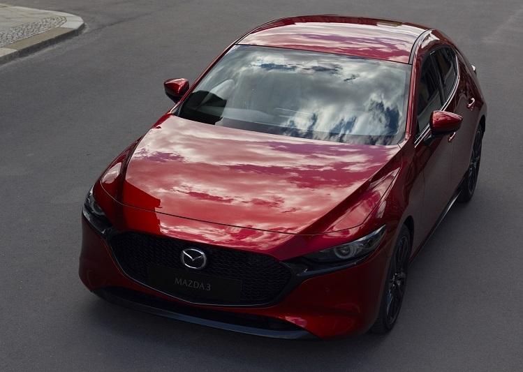 Mazda3 mới mang đậm ngôn ngữ thiết kế Kodo.