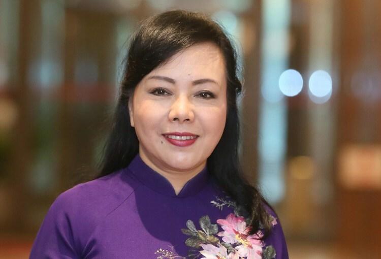 Bộ trưởng Y tế Nguyễn Thị Kim Tiến. Ảnh: Võ Hải