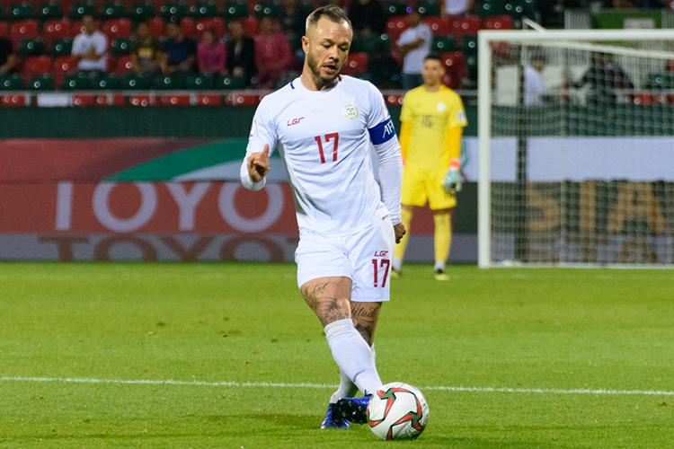 Schrock là trụ cột ở đội tuyển Philippines và có thể lực rất sung mãn.
