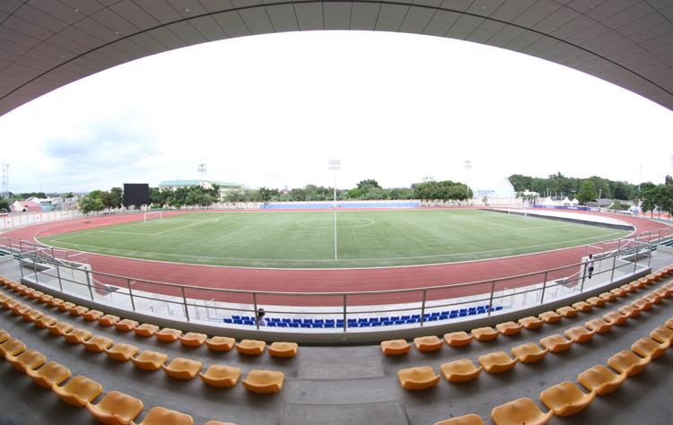 Sân Binan, nơi Việt Nam đá ba trận gặp Brunei, Lào và Thái Lan. Ảnh: Lâm Thoả