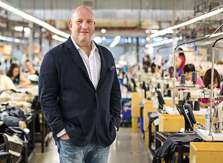 Dani Reiss là CEO của nhãn hiệu thời trang Canada Goose. Ảnh: Della Rollins.