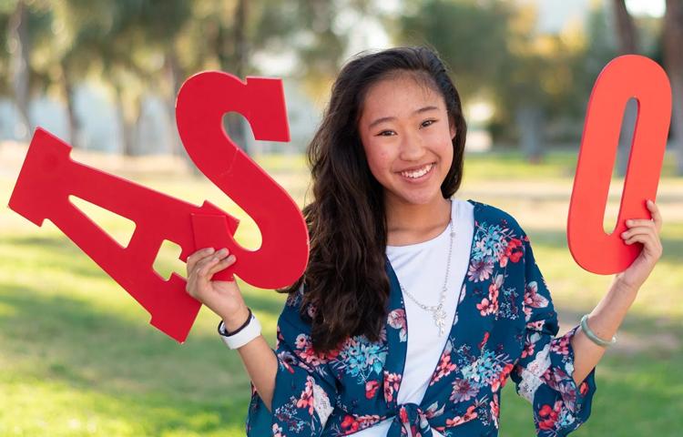 Vivian Yee là Chủ tịch Hội sinh viên trường cao đẳng Pierce. Ảnh: Katya Castillo.