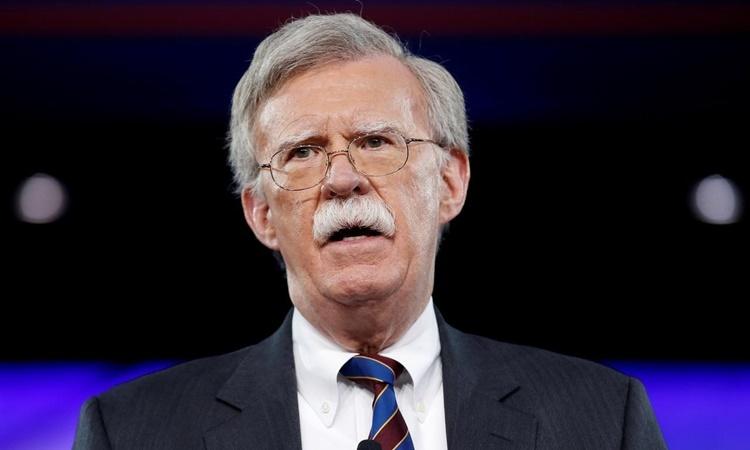 John Bolton phát biểu tại một hội nghị ở Maryland hồi tháng 3/2017. Ảnh: Reuters.