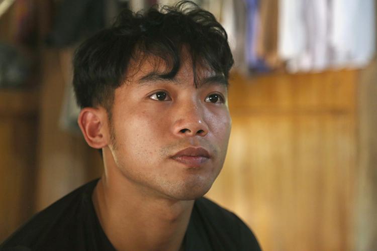 Đặng Viết Sơn tại nhà riêng ở huyện Yên Bình, Yên Bái. Ảnh: Phạm Dự.
