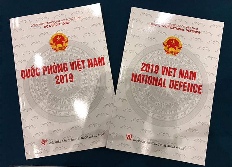 Sách trắng Quốc phòng Việt Nam 2019. Ảnh: Gia Chính.