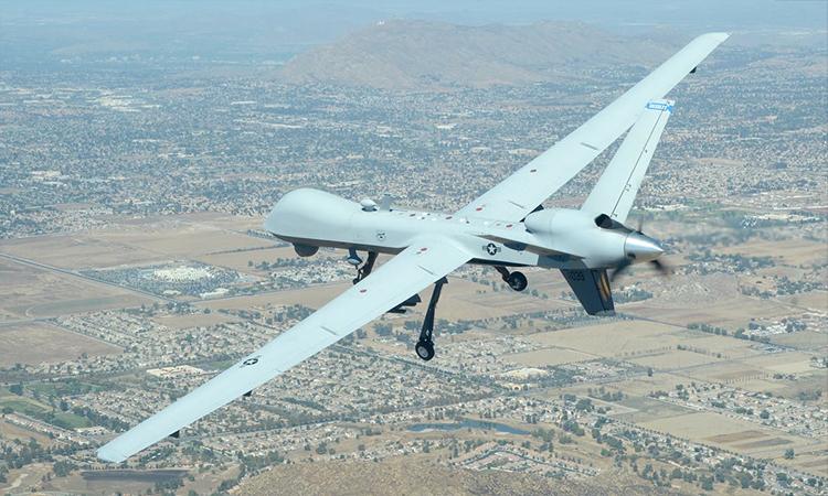Máy bay không người lái  MQ-9 Reaper của Mỹ. Ảnh: USAF