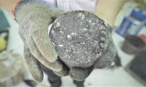 Sản xuất bê tông nhựa từ xỉ thép phế thải