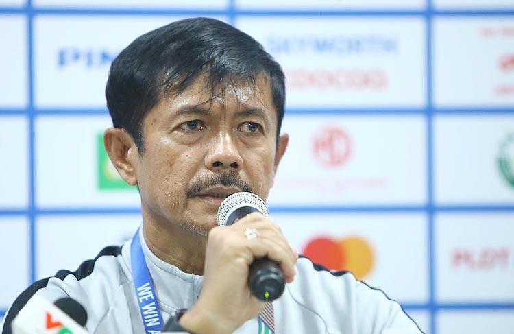 HLVIndra Syafri chia sẻ sau khi Indonesia đánh bại Thái Lan 2-0 tại SEA Games 30, chiều 26/11.