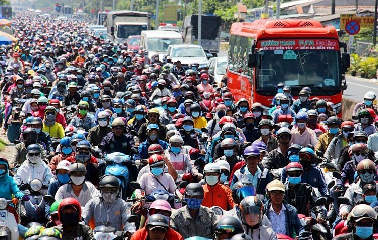 Население Вьетнама, по прогнозам, возрастет до 104 миллионов человек в 2030 году