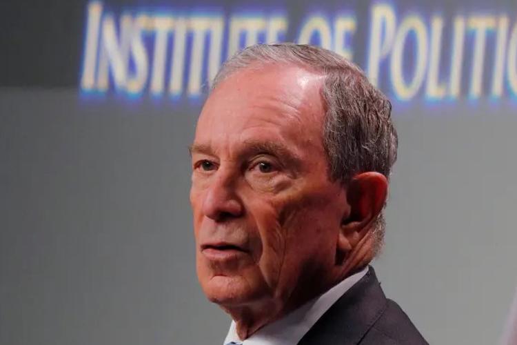 Tỷ phú Bloomberg tại một sự kiện hồi đầu năm 2019. Ảnh: Reuters.