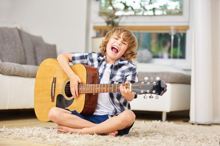 Năm cách giúp trẻ thích chơi nhạc cụ - VnExpress