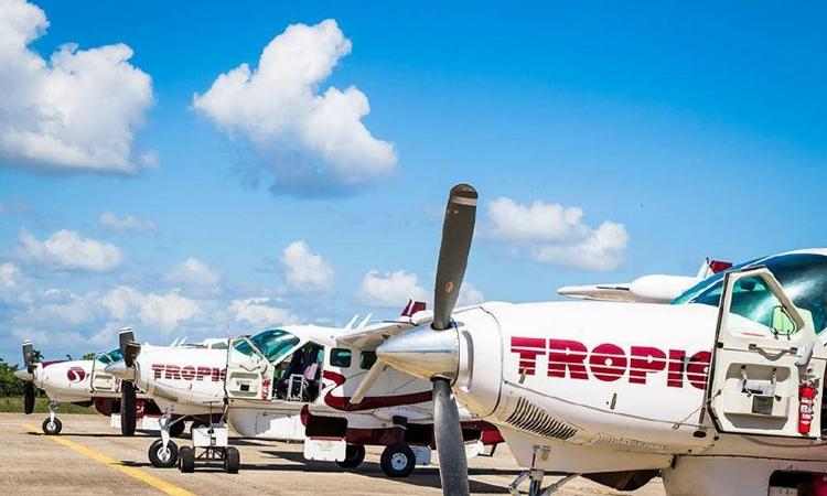 Máy bay của hãng hàng không Tropicair. Ảnh: Tropicair/Facebook.