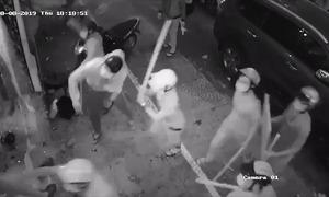 10 giang hồ đập phá nhà hàng bị bắt