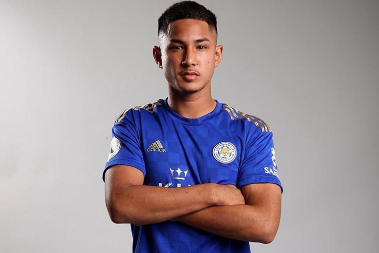 Faiq Bolkiah trong màu áo của câu lạc bộ Leicester City. Ảnh: Faiq Jefri Bolkiah Facebook