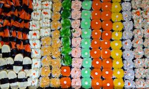 Sushi 1.000 đồng một viên