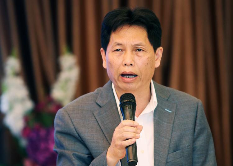 Phó giám đốc Sở Tài chính Hà Nội Mai Xuân Vinh. Ảnh: Võ Hải.