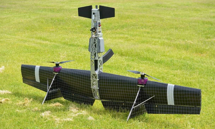 UAV trang bị súng săn Vepr-12 được Nga ra mắt đầu năm nay. Ảnh: Defence Blog.