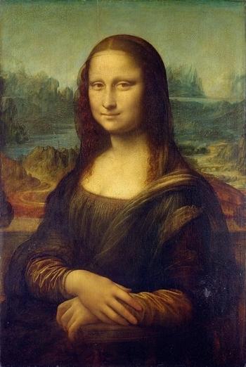 Bức tranh Mona Lisa. Ảnh: Commons.