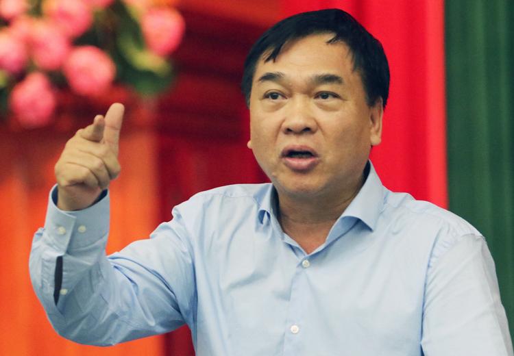Giám đốc Sở Xây dựng Hà Nội Lê Văn Dục. Ảnh: Võ Hải.