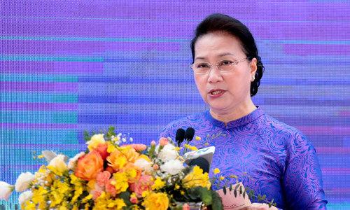 Chủ tịch Quốc hội mong thúc đẩy thị trường khoa học công nghệ
