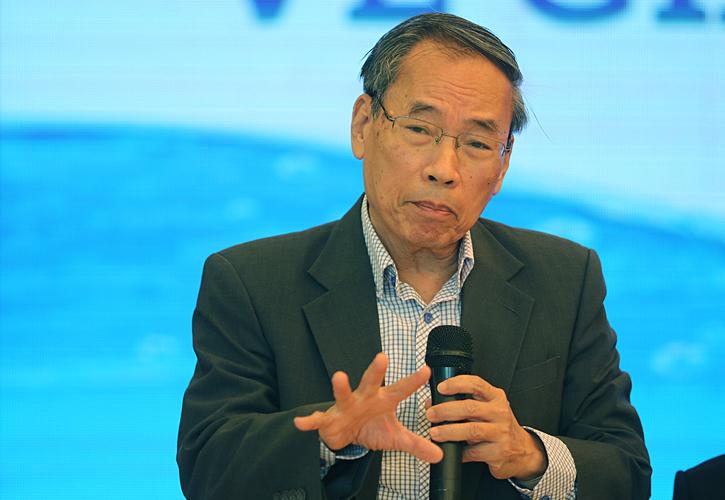 Nguyên Tổng thư ký hội cấp thoát nước Trần Quang Hưng. Ảnh: Võ Hải.
