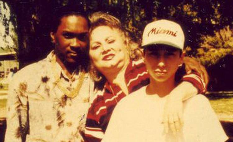 Griselda cùng con trai út và người tình trước khi bị bắt. Ảnh: Miami Herald.