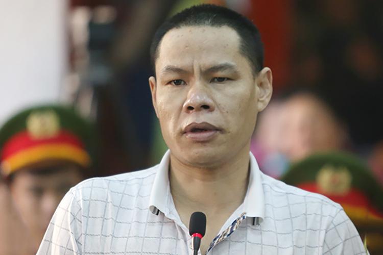 Bị can Vì Văn Toán tại phiên xử ngày 27/11. Ảnh: Phạm Dự.