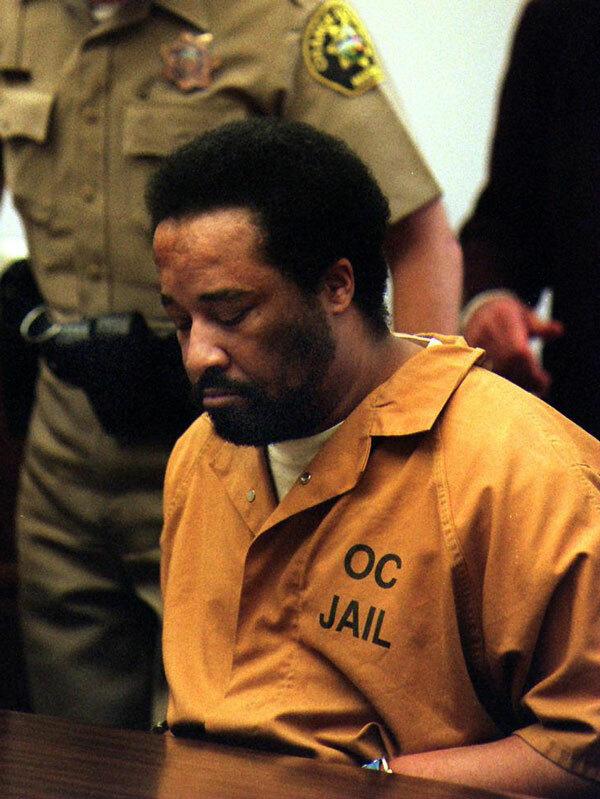 Gerald Parker bị tuyên án tử hình vào năm 1999. Ảnh: Orange County Register.