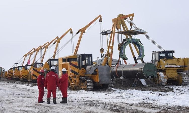 Đướng ống khí đốt 55 tỷ đô củng cố quan hệ Nga - Trung