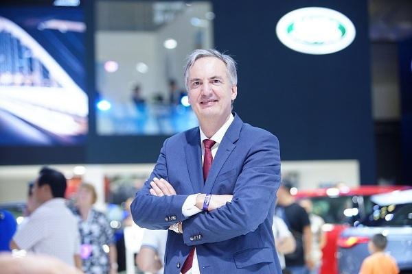 Ông Edwin Meijerman, Giám đốc điều hành của Jaguar Land Rover Việt Nam tại triển lãm Ôtô Việt Nam 2019.