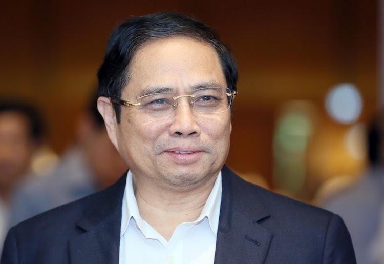 Trưởng Ban Tổ chức Trung ương Phạm Minh Chính. Ảnh: Ngọc Thắng
